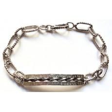 Ανδρικά ασημένια κοσμήματα