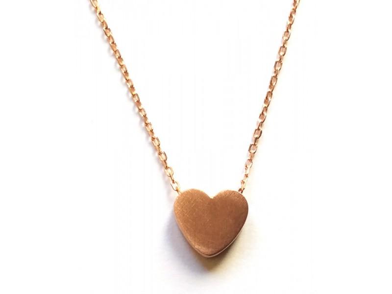Γυναικείο Μενταγιόν  Ασημένιο Καρδιά