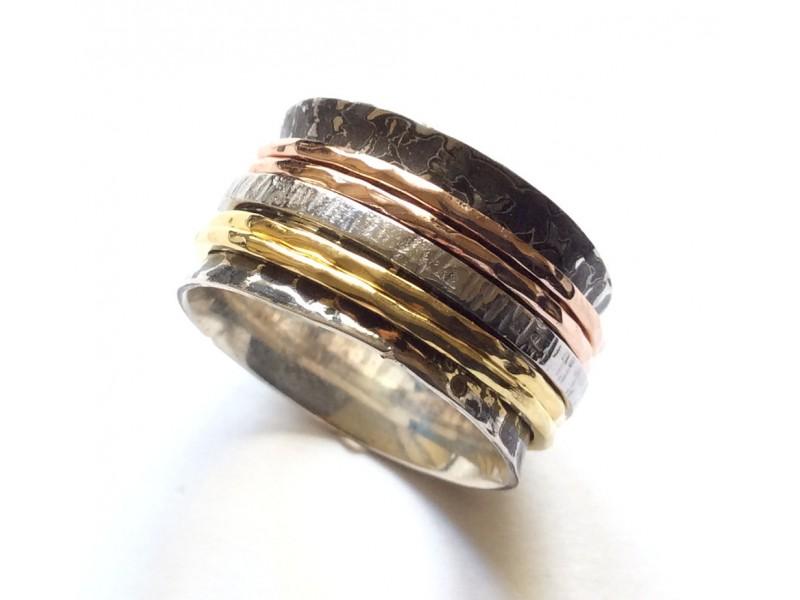 Δαχτυλίδι Ασημένιο Γυναικείο & Ανδρικό Spinner