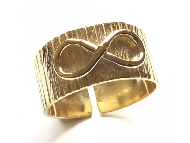 Γυναικείο Δαχτυλίδι Ασημένιο με άπειρο